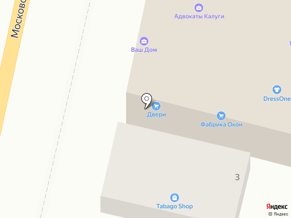 Медынь на карте Калуги