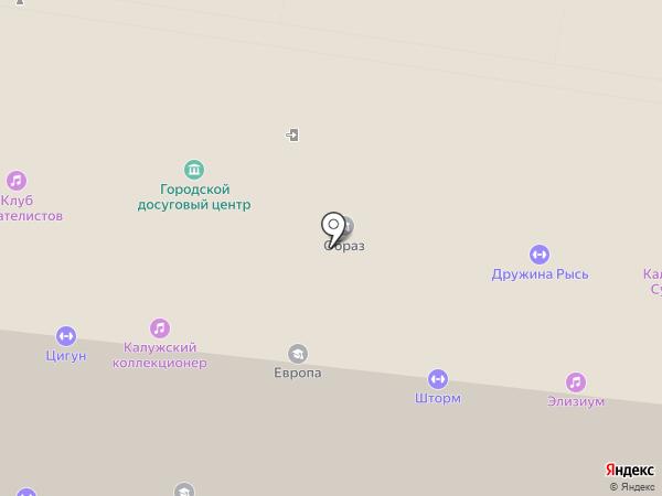 ЖонглЁж на карте Калуги