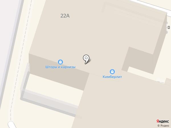 Кимберлит на карте Калуги