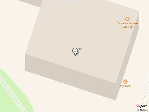 Солнечная пекарня на карте Калуги
