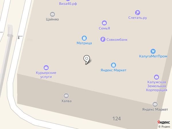 Мир Квартир на карте Калуги