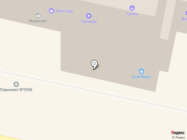 Калужанин на карте Калуги