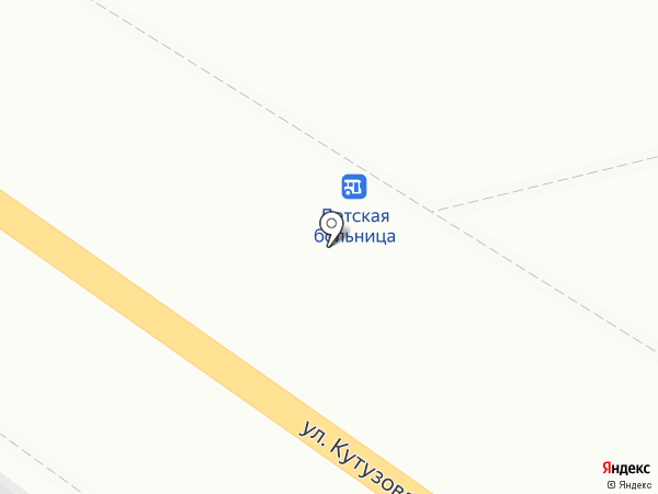 Куриный домик на карте Калуги
