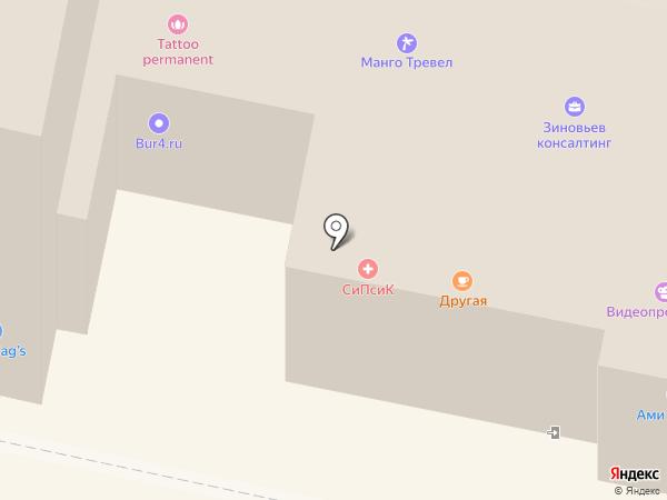 АниКей на карте Калуги