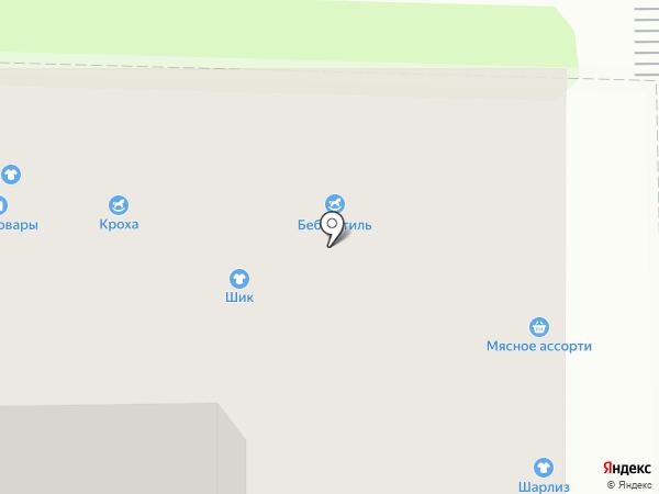 Беби-стиль на карте Калуги