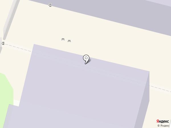 Детская школа искусств №1 им. Н.П. Ракова на карте Калуги