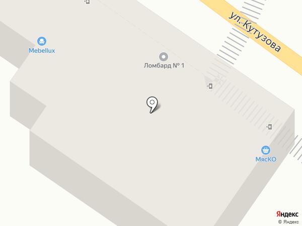 Магазин головных уборов на карте Калуги