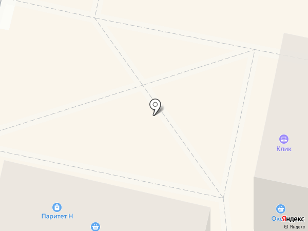 Киоск по продаже горячей выпечки на карте Калуги