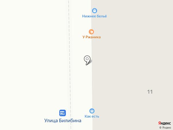 Магазин нижнего белья на карте Калуги