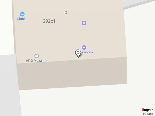 ЭТИН на карте Калуги