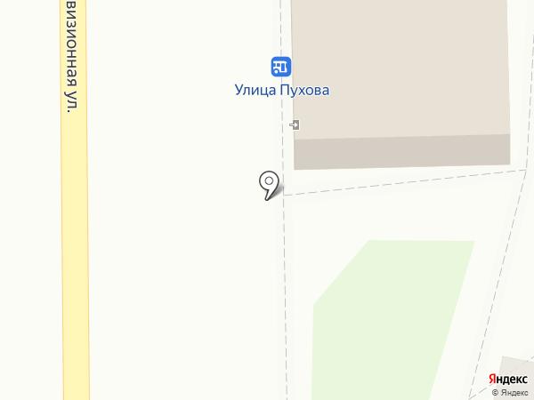 Магазин хлебобулочных изделий на карте Калуги