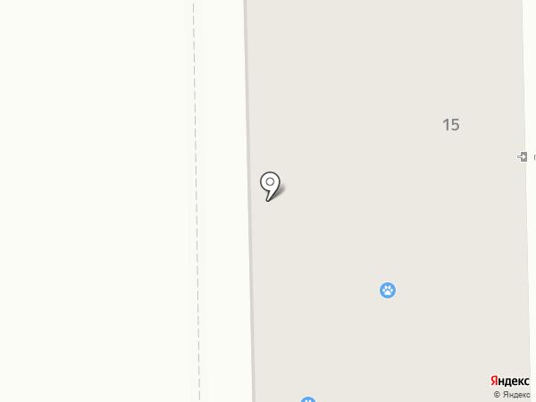 Хотэй на карте Калуги