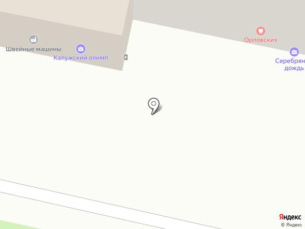 Салон швейных машин на карте Калуги