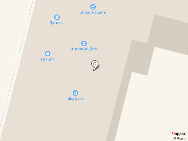 Грация на карте Калуги