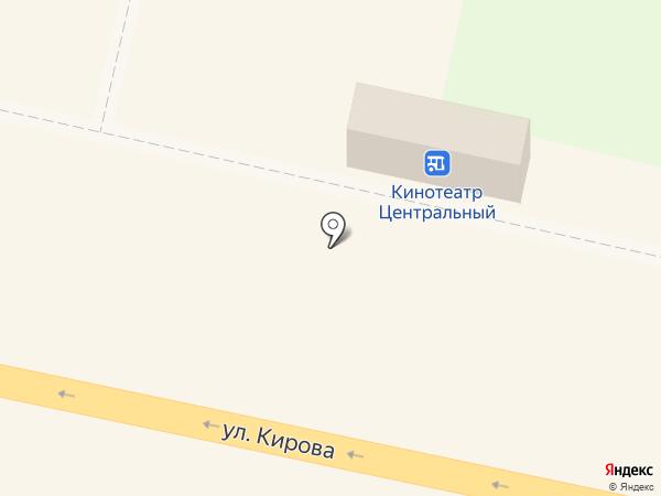 Калужские лотереи на карте Калуги