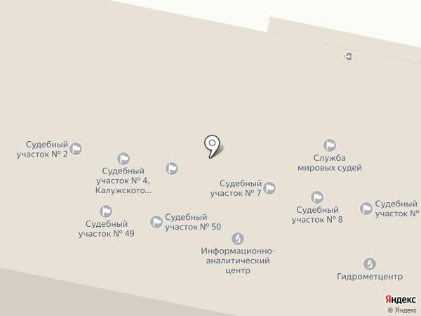 Мировые судьи г. Калуги на карте Калуги