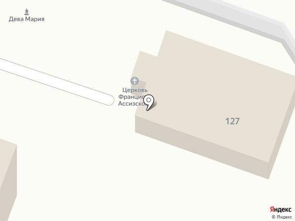 Приход Св.Георгия Великомученика Римско-Католической Церкви в Калуге на карте Калуги