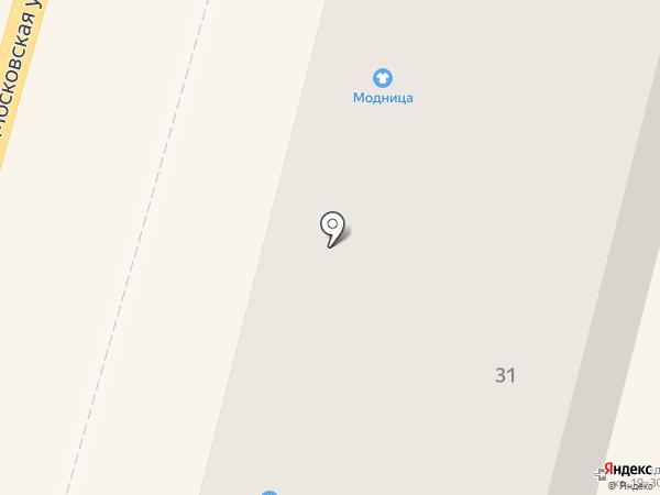 Ридикюль на карте Калуги