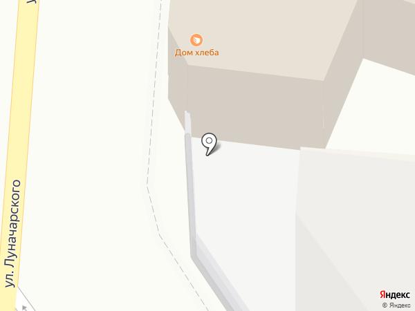 Дом хлеба на карте Калуги