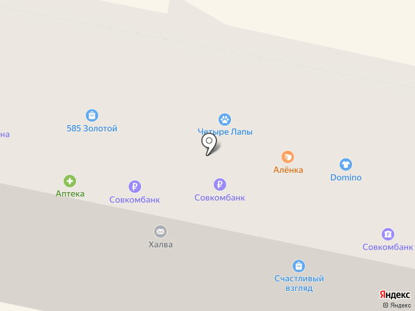 Аленка на карте Калуги