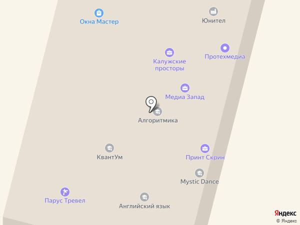 SOLO & стиль на карте Калуги