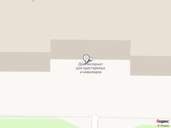 Калужский дом-интернат для престарелых и инвалидов на карте Калуги