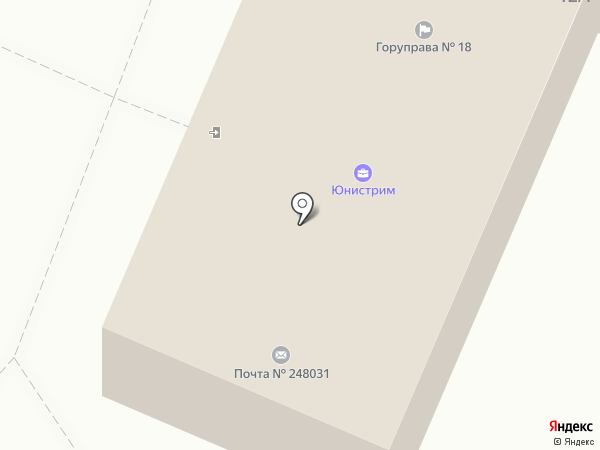 Почтовое отделение №31 на карте Калуги