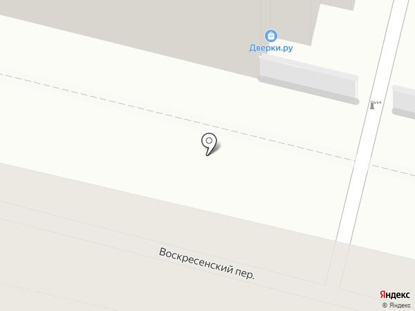 Дверки.ру на карте Калуги