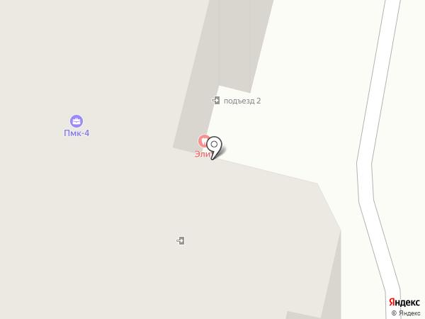 Элит на карте Калуги