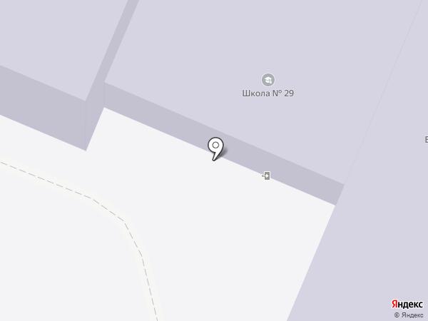 Средняя общеобразовательная школа №29 на карте Калуги