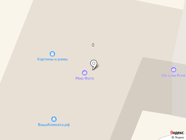 Центральный выставочный зал на карте Калуги