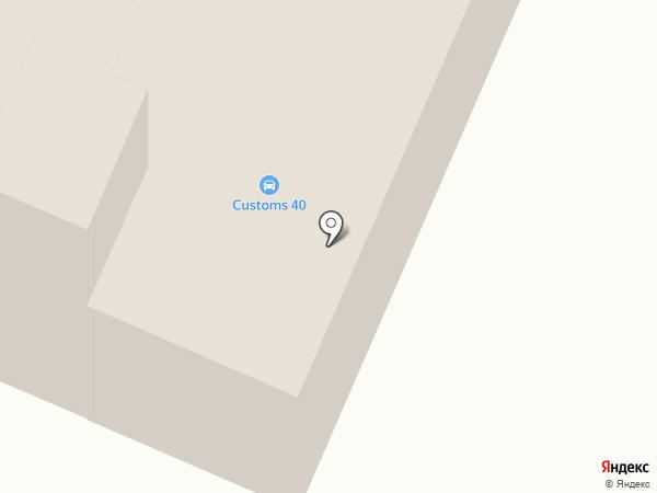 Служба спасения г. Калуги на карте Калуги