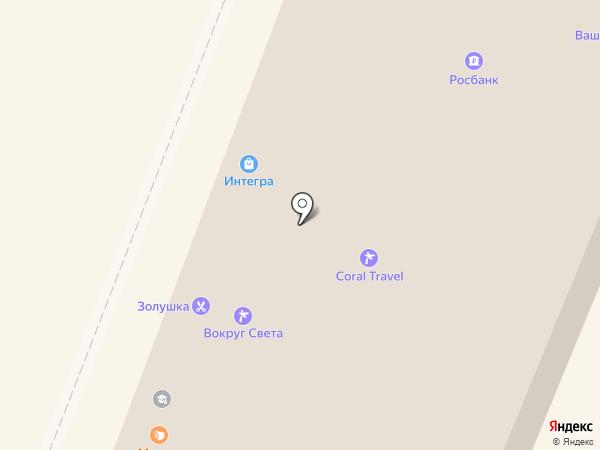 Центральное на карте Калуги