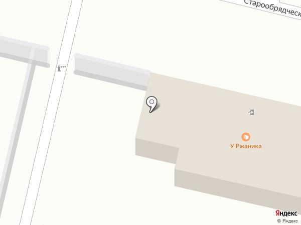 Хлебозавод №1 на карте Калуги