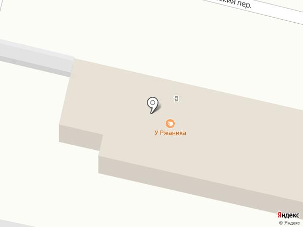 Сеть продуктовых магазинов на карте Калуги