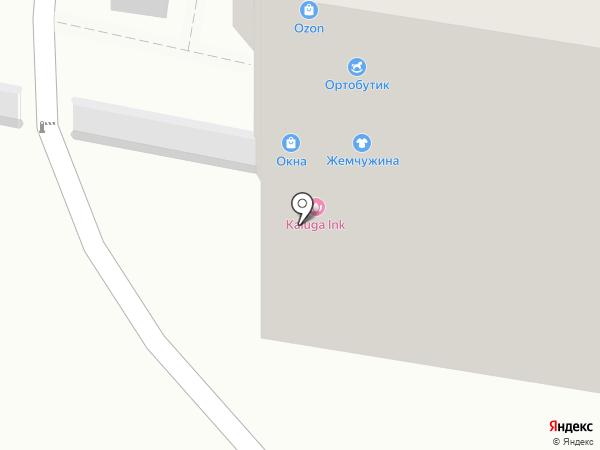 Весна на карте Калуги