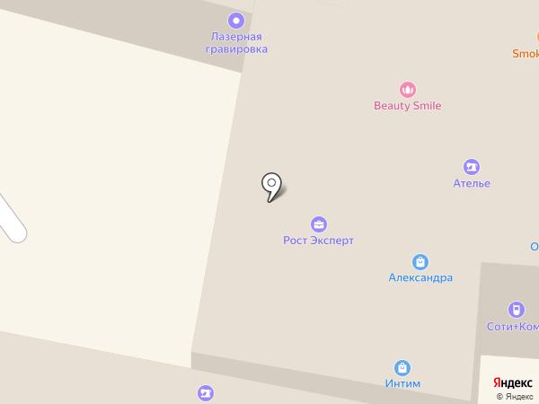 Дом окон на карте Калуги