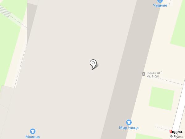 Гламелия на карте Калуги