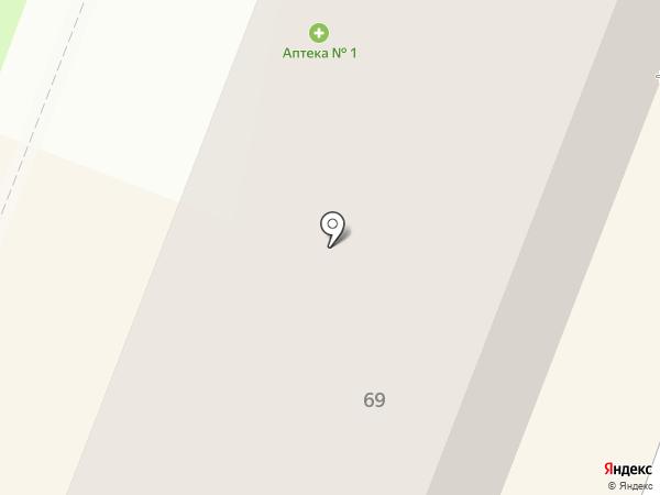 Калугафармация, ГП на карте Калуги