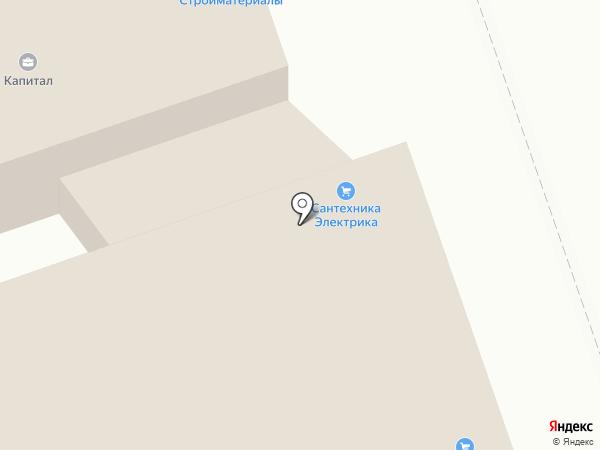 Кубера на карте Калуги