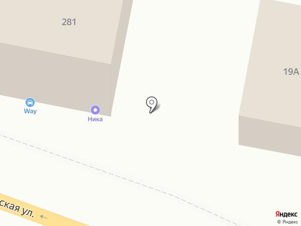 Ника на карте Калуги