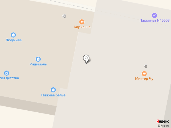Луиза на карте Калуги