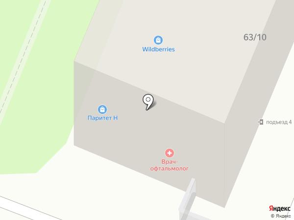 Каролина на карте Калуги