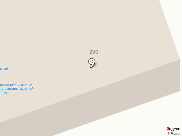 Главное бюро медико-социальной экспертизы по Калужской области на карте Калуги