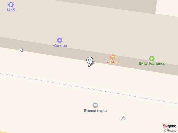 Subway на карте Калуги