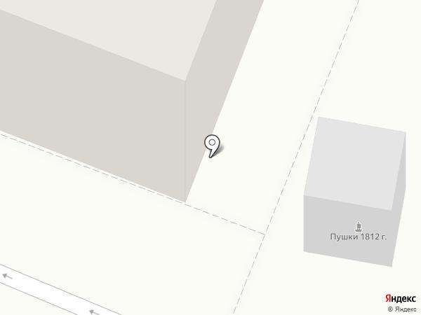 Колобок на карте Калуги