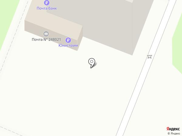Почтовое отделение №21 на карте Калуги