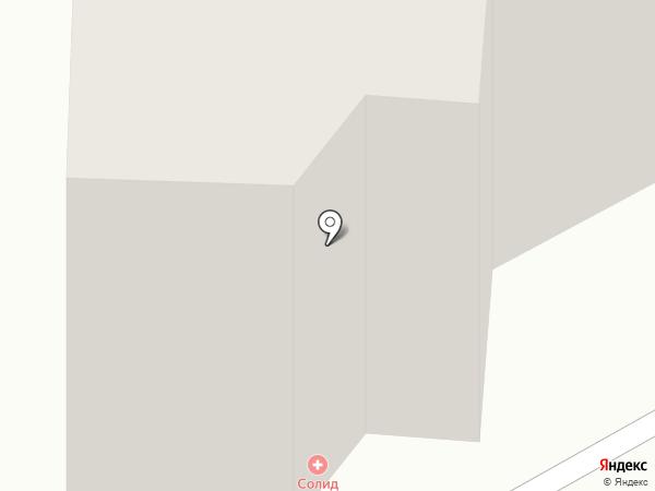 Кристалл на карте Калуги