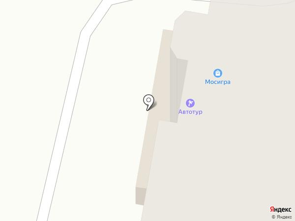 Мосигра на карте Калуги