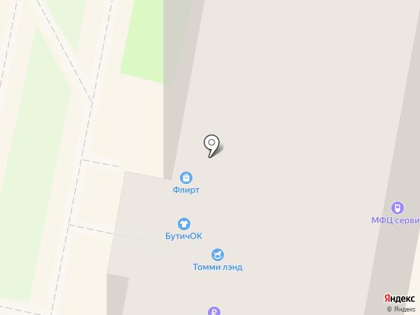 Флирт на карте Калуги